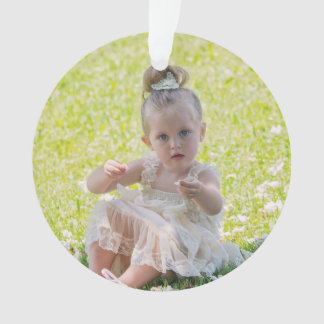 Double Sided Personalized Christmas Ornament