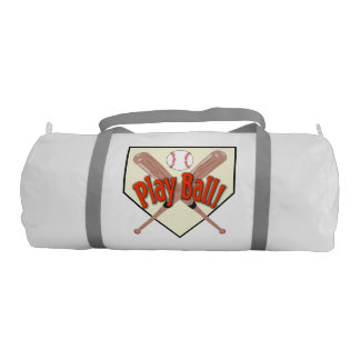 Double Sided Play Ball Duffle Bag Gym Duffel Bag