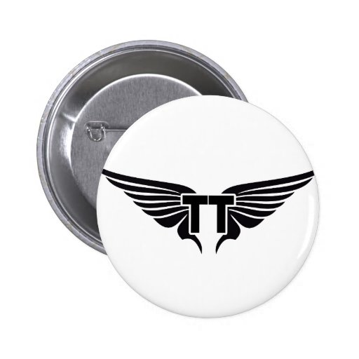 Double T-Wing Button
