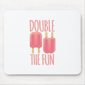 Double The Fun Mouse Pad