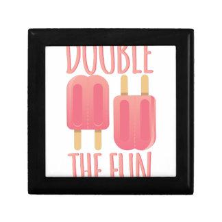 Double The Fun Small Square Gift Box