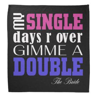Double Time Bride (for Darks) Bandana