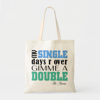 Double Time Groom Budget Tote Bag