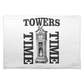 double time towers placemat