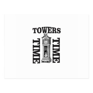 double time towers postcard