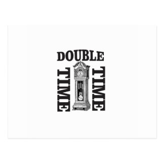 double time two postcard