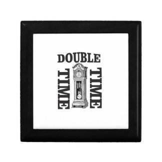 double time two small square gift box