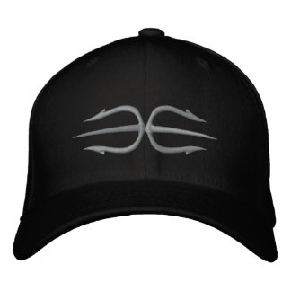 Double Trident  Cap Embroidered Hat
