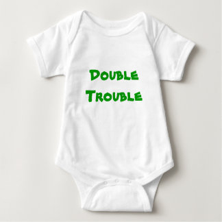 Double Trouble Baby Bodysuit