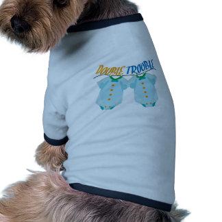 Double Trouble Ringer Dog Shirt