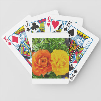 Double Trouble Flower Bicycle Playing Cards