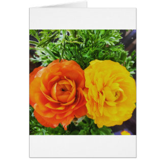 Double Trouble Flower Card