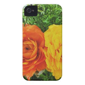 Double Trouble Flower iPhone 4 Covers