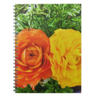Double Trouble Flower Notebooks