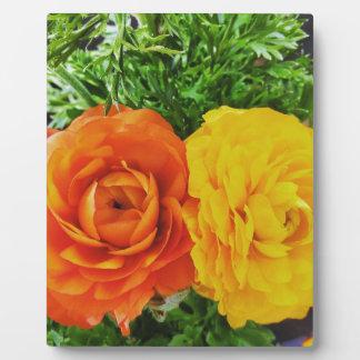 Double Trouble Flower Plaque