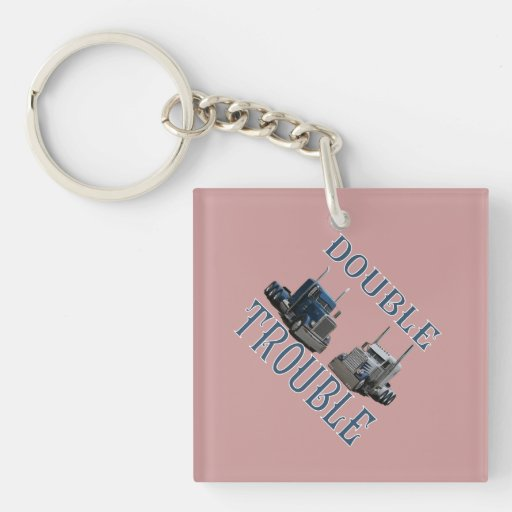 Double Trouble Keychains