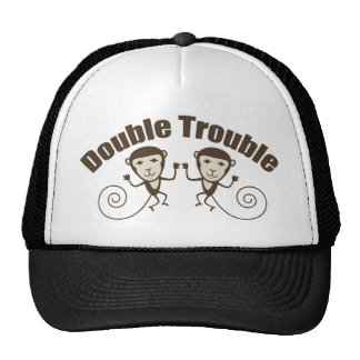 Double Trouble Monkey Cap