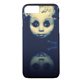 double trouble scary doll phone case