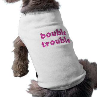 double trouble sleeveless dog shirt