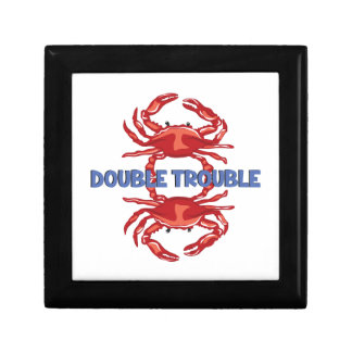 Double Trouble Small Square Gift Box