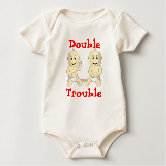 Double Trouble Twin Baby Shirt