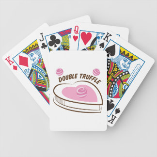 Double Truffle Poker Deck