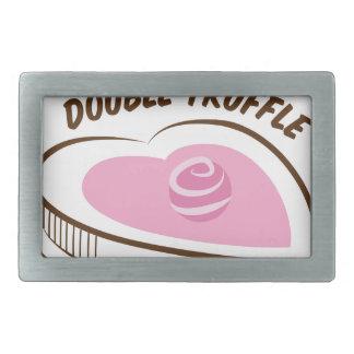 Double Truffle Rectangular Belt Buckles