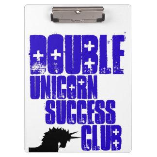 Double Unicorn Success Club clipboard