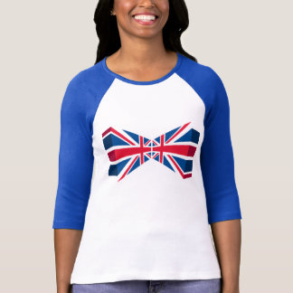 Double Union Jack, British flag in 3D T-Shirt