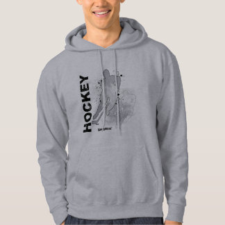 Double Vision Hockey (Male) Hoodie