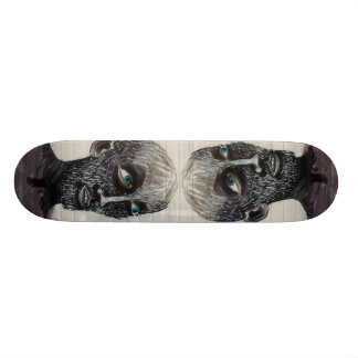 Double Vision 18.1 Cm Old School Skateboard Deck