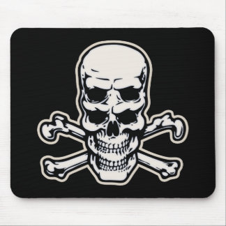 Double Vision Skull Mouse Pad