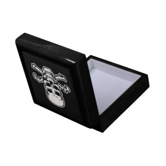 Double Vision Skull Small Square Gift Box