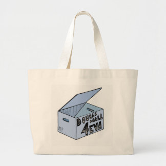 Double Wall 4 Eva archival acid-free box Large Tote Bag