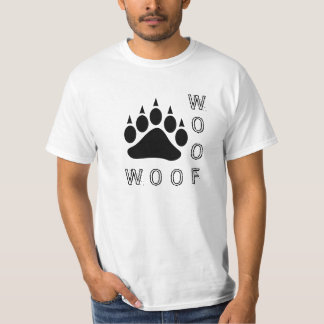 Double Woof Diesel Black Bear Paw T-Shirt