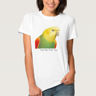 Double Yellow Headed Amazon Babydoll Tee Shirt