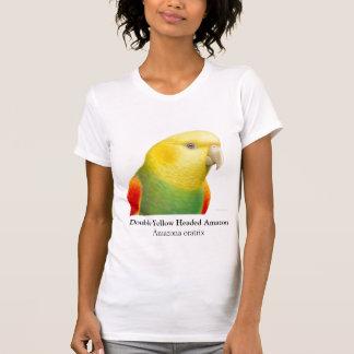 Double Yellow Headed Amazon Scoop Neck Shirt