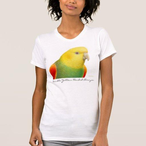 Double Yellow Headed Amazon V-Neck Tshirt