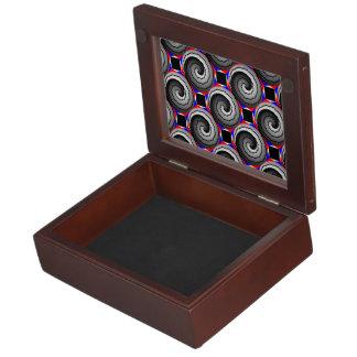 Double Yin Yang Spiral Keepsake Boxes