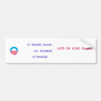 DOUBLES ANYONE ? BUMPER STICKER