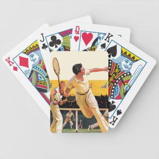 Doubles Tennis Match Poker Deck