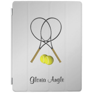 Doubles Tennis Sport Theme Personalized iPad Cover