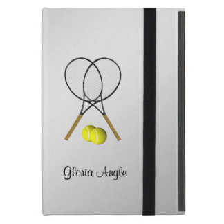 Doubles Tennis Sport Theme Personalized iPad Mini Case