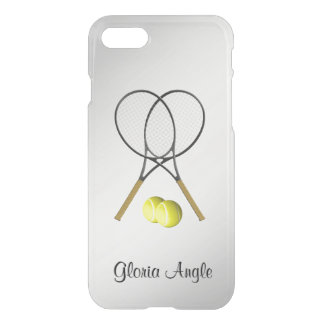 Doubles Tennis Sport Theme Personalized iPhone 8/7 Case