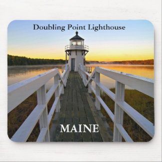 Doubling Point Lighthouse, Maine Mousepad