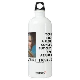 Doubt Not Pleasant Condition Certainty Voltaire SIGG Traveller 1.0L Water Bottle