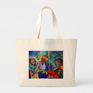 Doubting Thomas Jumbo Tote Bag