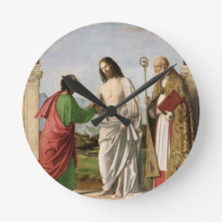 Doubting Thomas with St. Magnus, c.1504-05 Wall Clocks