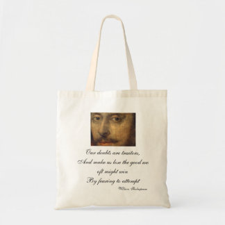 Doubts are Traitors Tote Budget Tote Bag