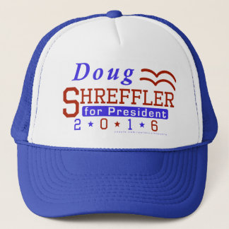 Doug Shreffler President 2016 Election Democrat Trucker Hat